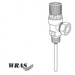 "TPR-15 7 Temperature and Pressure Relief Valve 1/2"" 7 Bar"