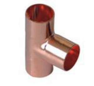 W362 Copper Tees 15mm All Ends