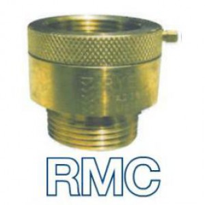 7107.2 Chromed Hose Connection Vacuum Breaker 25mm RMC