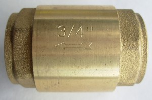 NR701 Non-Return Valve 20mm 3/4""