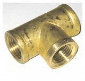 "4204 Brass Tees 20mm (3/4"")"