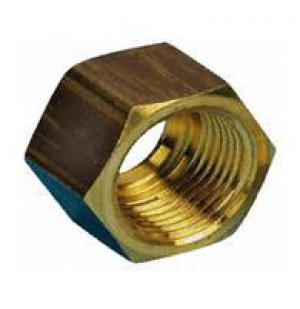 "10090R Brass Kinco Nut 15mm (1/2"")"
